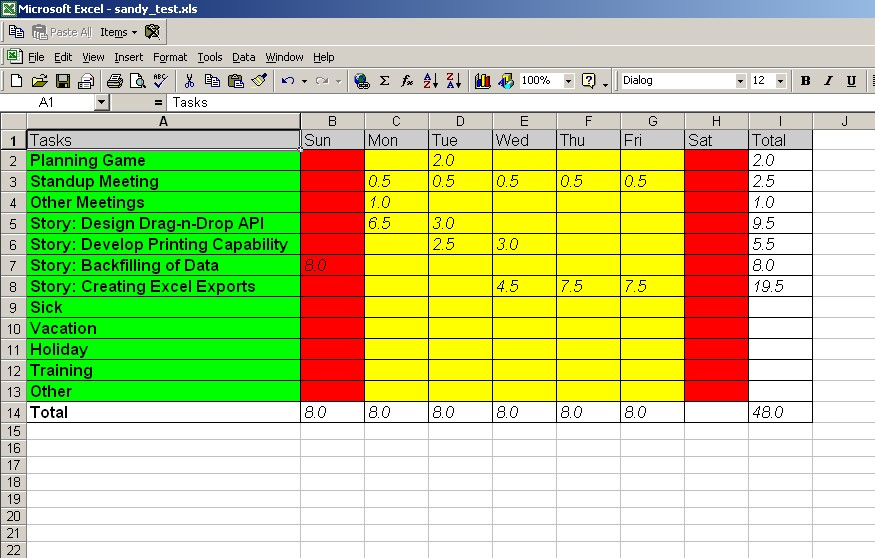 Full Size of Read And Write Microsoft Excel Spreadsheets Using Jakarta Poi Object Computing Inc Spreadsheet Document