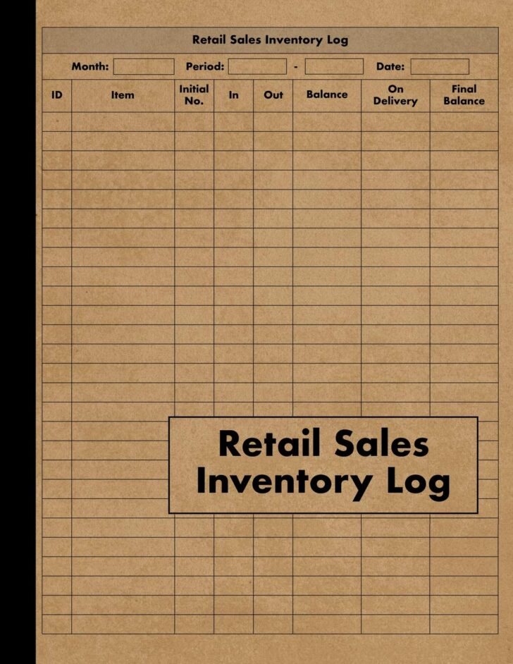 Medium Size of Retail Inventory Large Book Management For Business Stock And Supplies Perfect Bound At Spreadsheet Template