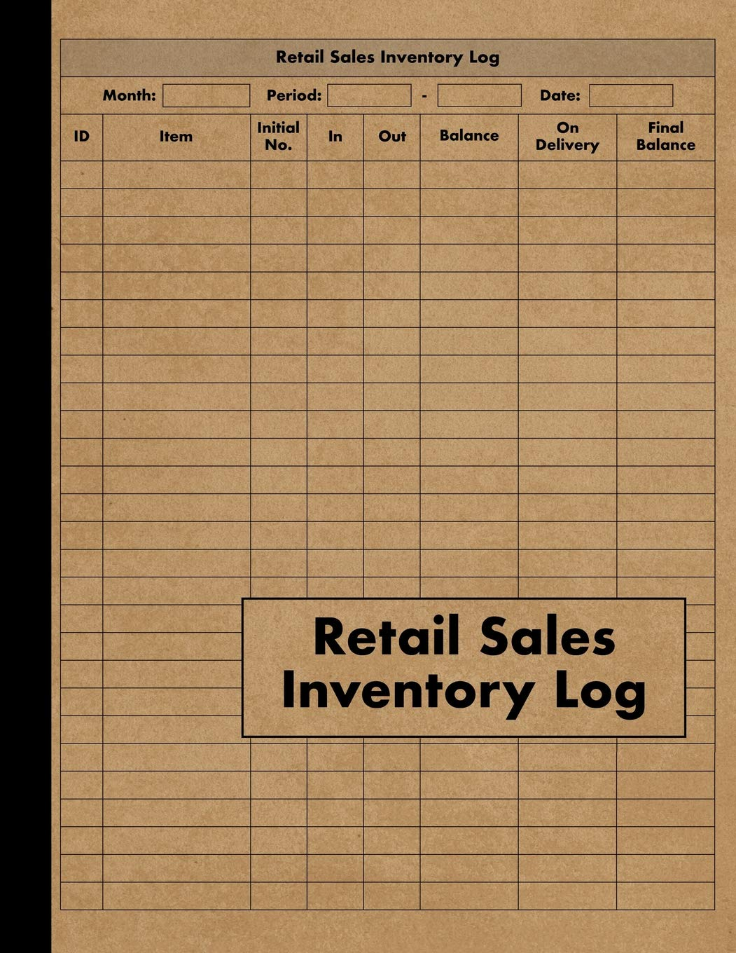 Full Size of Retail Inventory Large Book Management For Business Stock And Supplies Perfect Bound At Spreadsheet Template