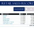 Thumbnail Size of Retail Record My Excel Templates Template Free Business Form Debt Spreadsheet Department Sales