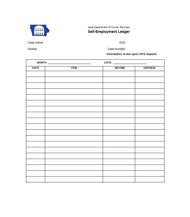 Full Size of Self Employment Ledger Free Templates Examples Template Google Sheets Chart Best Excel Spreadsheet