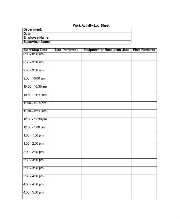 Full Size of Sheet Template Free Word Excel Pdf Documents Premium Templates Printable Work Sheets Spreadsheet Video Log