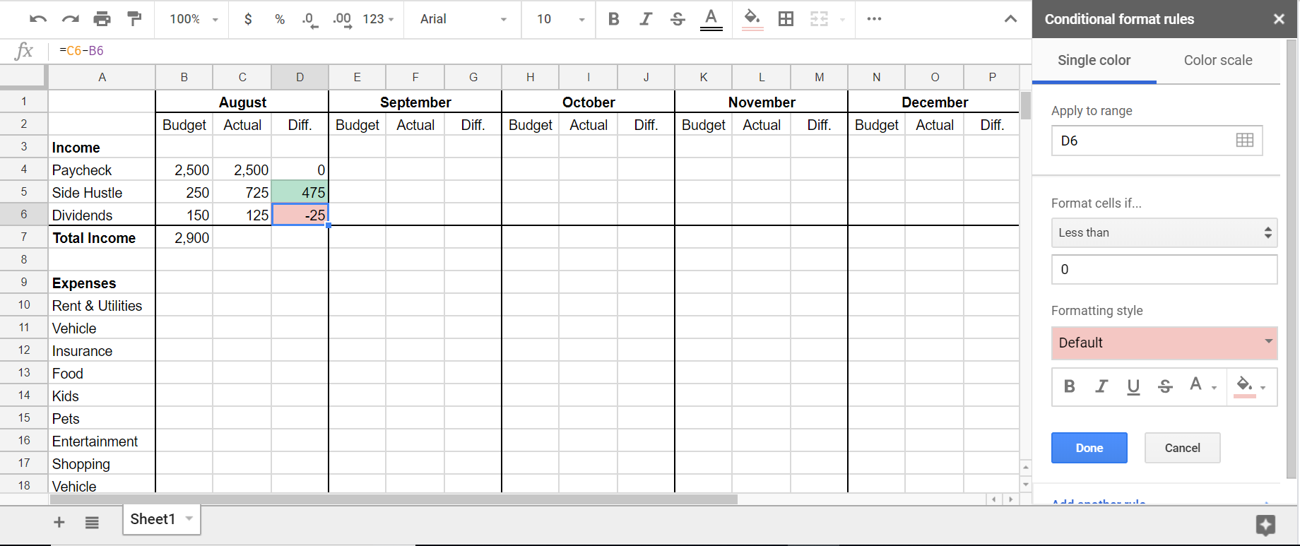 Full Size of Spreadsheet Excel Tracking Business Expenses Sample Monthly Budget Google Sheets
