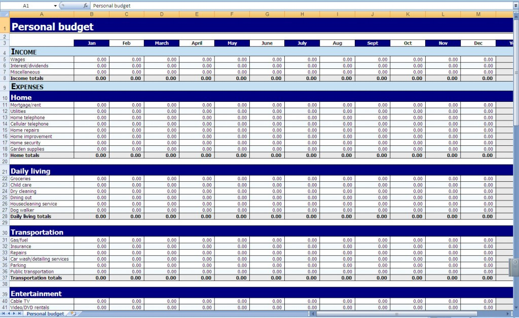 Full Size of Spreadsheet Free Download Gantt Chart Template Google Gadget Personal Budget Excel