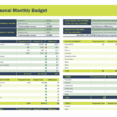 Spreadsheet Free For Android Track Income And Expenses Expense Profit Monthly Budget Template