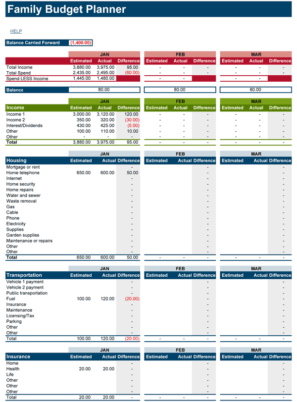 Full Size of Spreadsheet Home Finance Tax Expenses Excel Household Budget Template