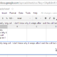 Thumbnail Size of Spreadsheet Income Tracking Create A For Dummies Table Wrap Text In Google Sheets