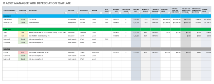 Spreadsheet Instructions Excell Learning Excel Spreadsheets Make A In Template Asset Tracking
