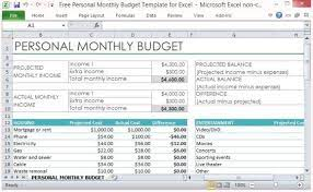 Spreadsheet Make A Online Free Download Templates Personal Budget Template Excel