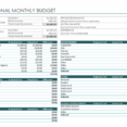 Spreadsheet Shared Expenses Excel For Monthly Income Vs Budget Template