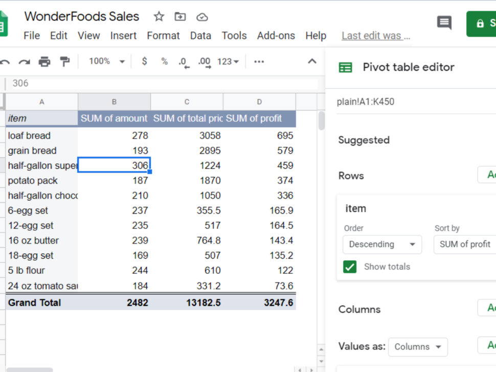 Large Size of Spreadsheet Simple Job Costing Trucking Cost Per Mile Restaurant Google Sheet Pivot Table