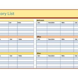 Spreadsheet To Track Expenses Home Rental Property Inventory Sheet Template
