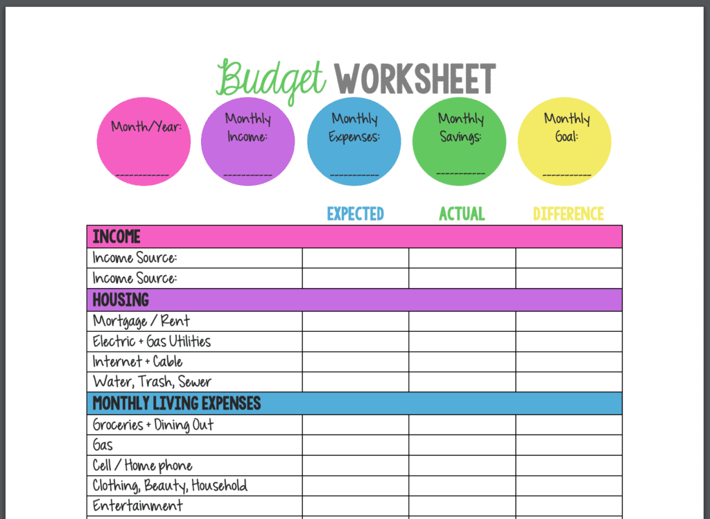 Full Size of Statement Template How To Create A Spreadsheet In Excel Make An Inventory Small Free Budget