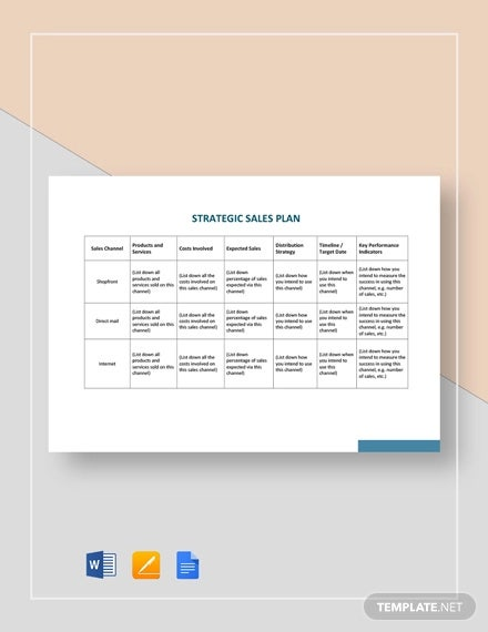 Full Size of Strategic Plan Template Free Sample Example Format Premium Templates Word Business Card Spreadsheet Sales Xls