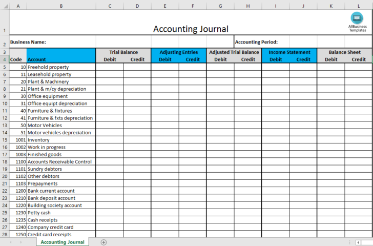 Template Business Assets Chicago Style Paper Format Google Bookkeeping Excel