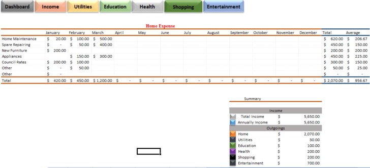 Medium Size of Template Business Filing System Goal Setting Expenses Spreadsheet