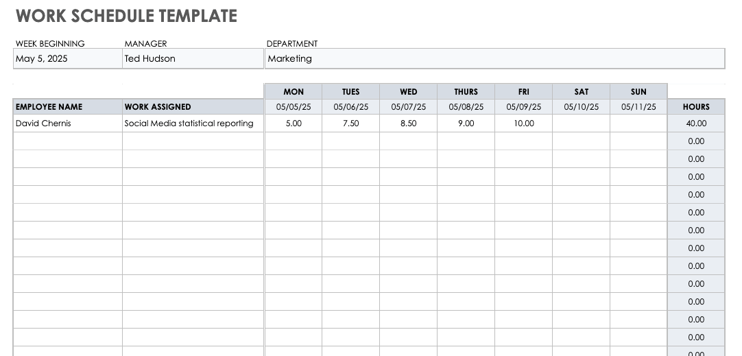 Full Size of Template For Donut Shop Business Plan Educational Program Google Sheets Work Schedule
