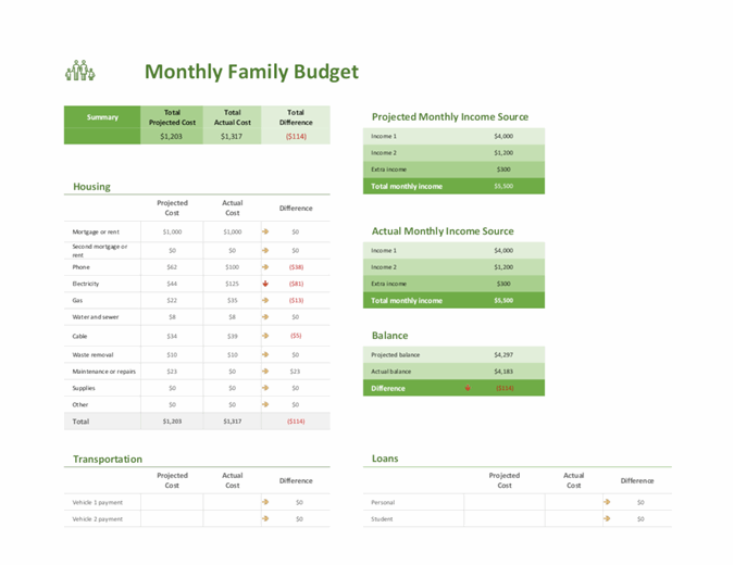 Template Responsive Business Website Templates Login Free Simple Budget Excel