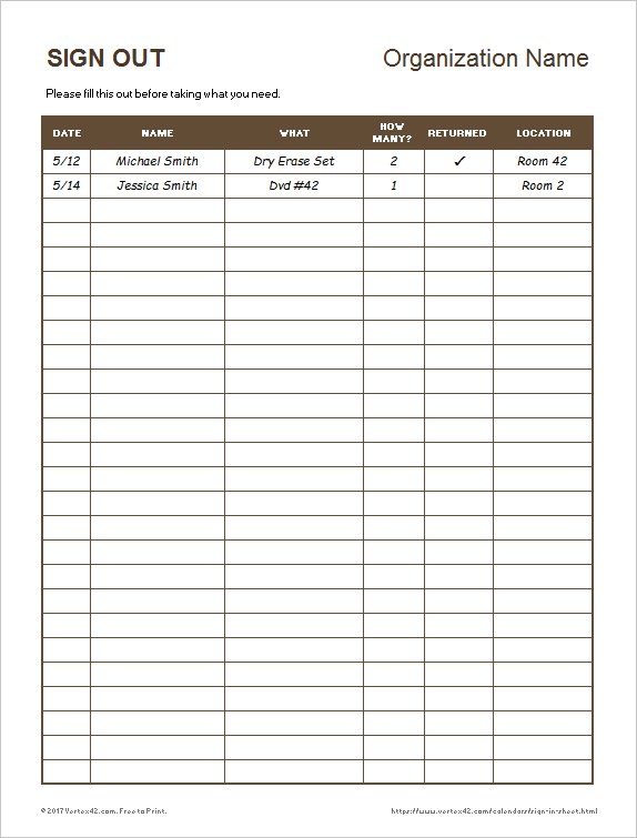 Templates Free Writing Business Letters Cards Size Template Sign In And Out Sheet Excel