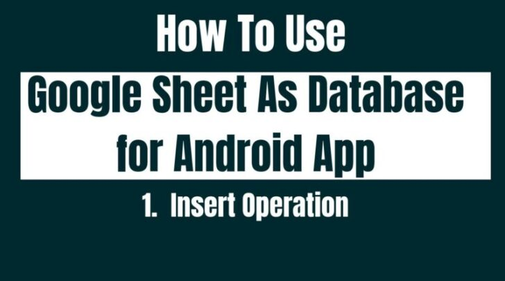 Medium Size of Tips On To Use Google Sheet As Database For Android Insert Operation Olcbd Tech Internet Spreadsheet