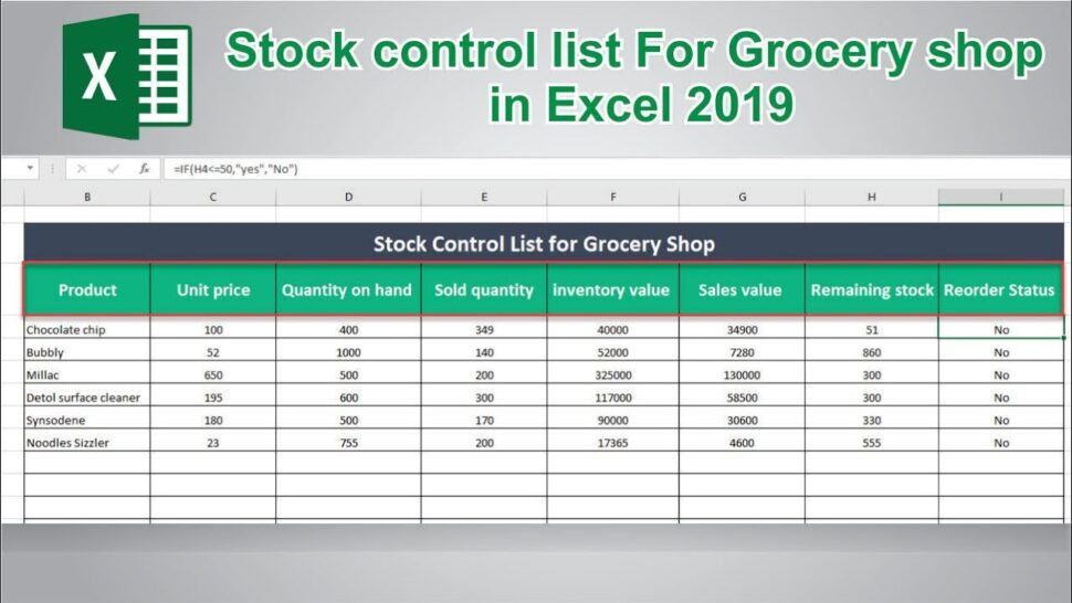 Large Size of To Create Stock Control In Ms Excel Inventory Management Spreadsheet Take Template Direct