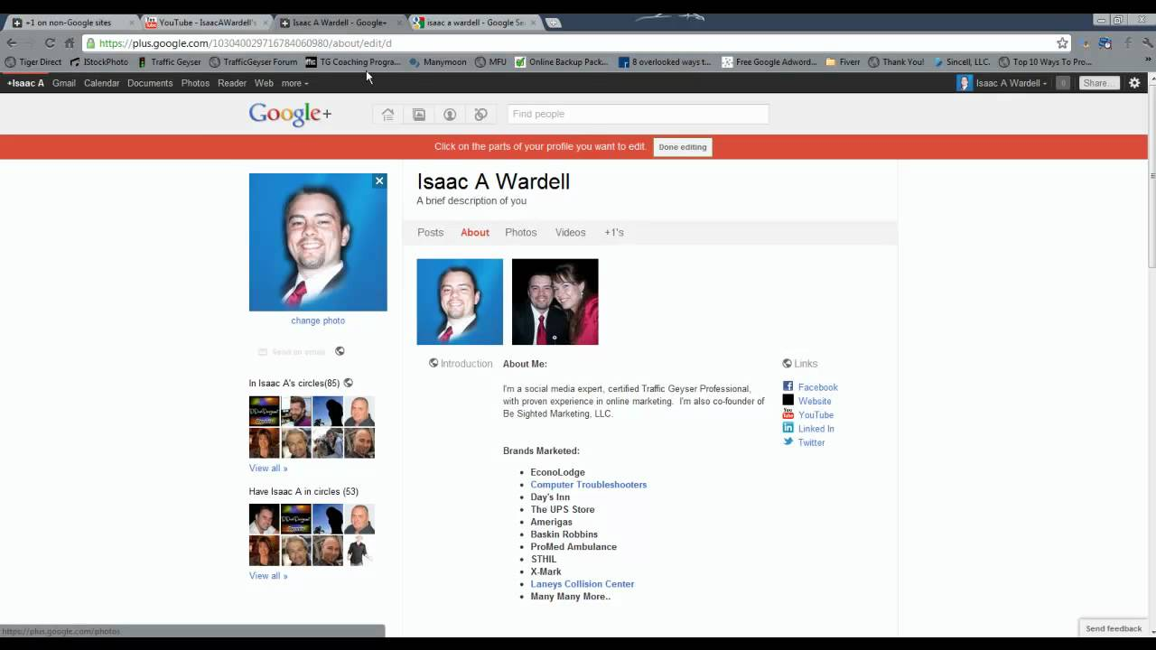 Full Size of To Edit Your Google Plus Profile Amortization Calculator Spreadsheet Ampad Business Card Page