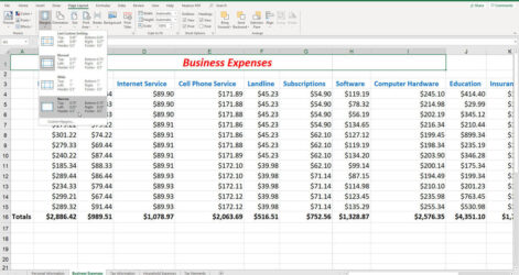 To Fix Common Printing Problems In Microsoft Excel Techrepublic Document Figure Small Spreadsheet