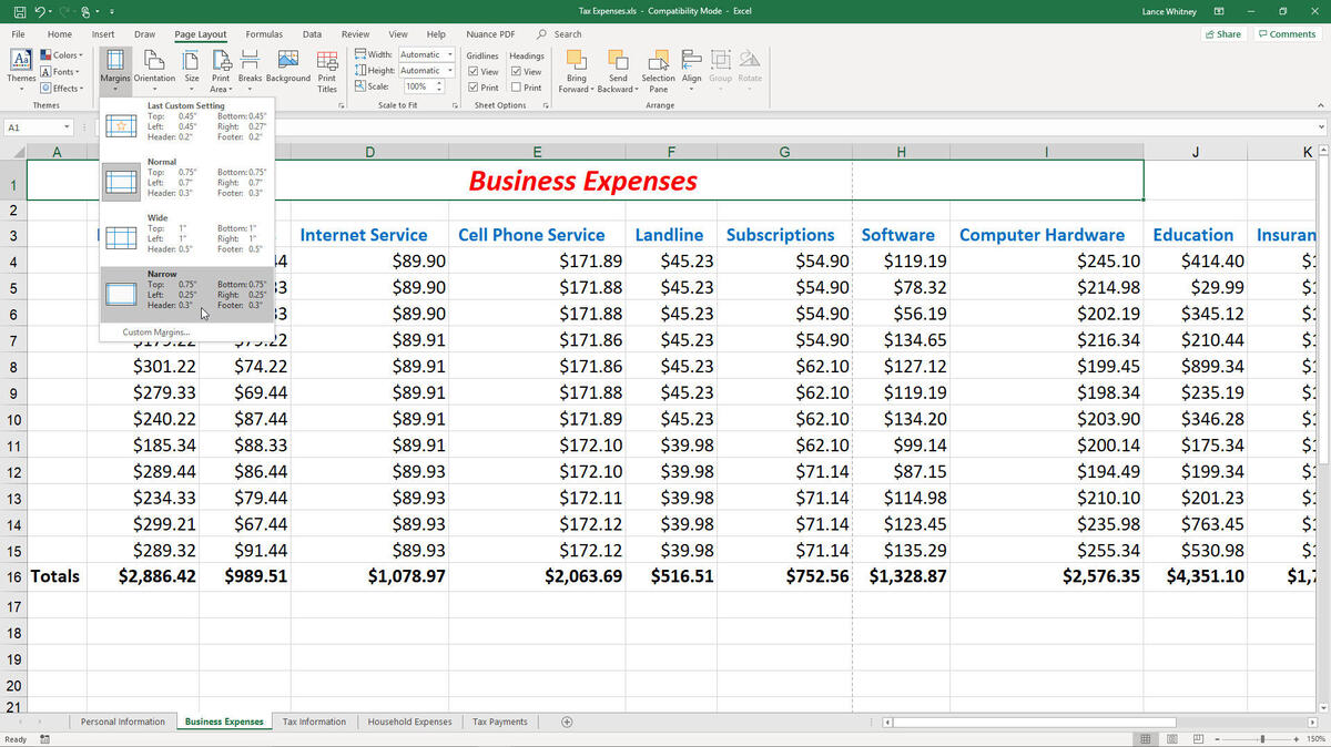 Full Size of To Fix Common Printing Problems In Microsoft Excel Techrepublic Document Figure Small Spreadsheet