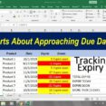 To Make Due Date Tracker Excel Template Expiration Business Newsletter Templates Spreadsheet Download