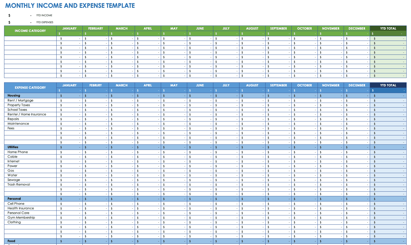 Full Size of To Share An Excel Spreadsheet Tutorial 2010 Convert Pdf Table How Template Breakdown Of Expenses