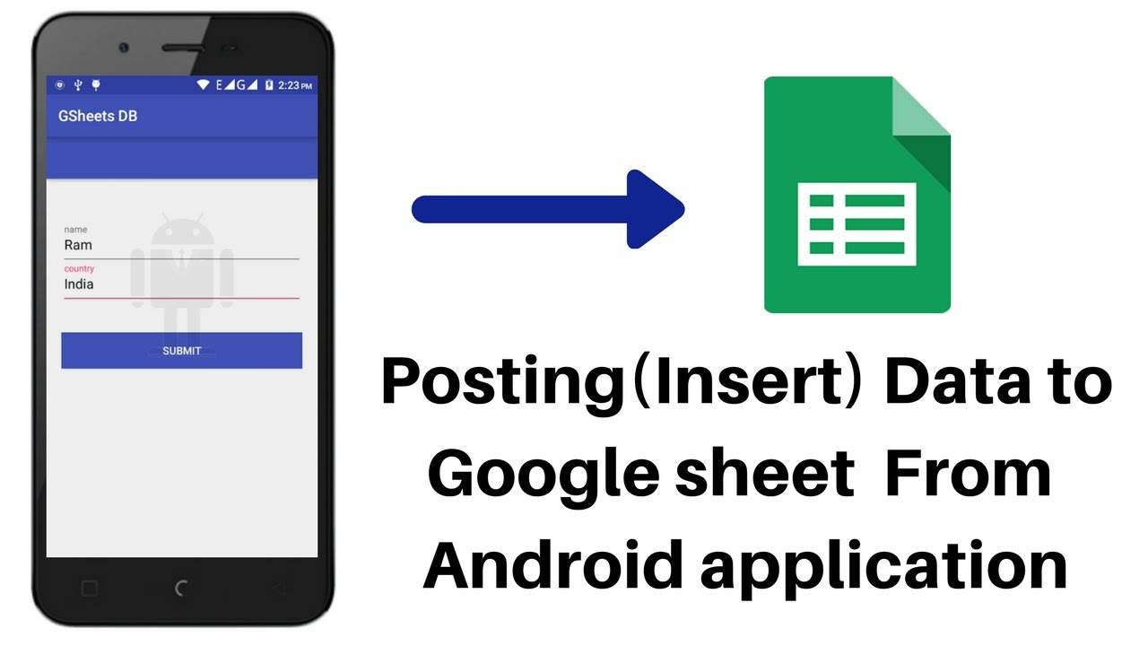 Full Size of To Use Google Sheet As Database For Android Part Post Data From Spreadsheet Home