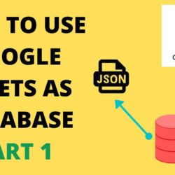To Use Google Sheets As Database Part Spreadsheet Android Personal Budget Template