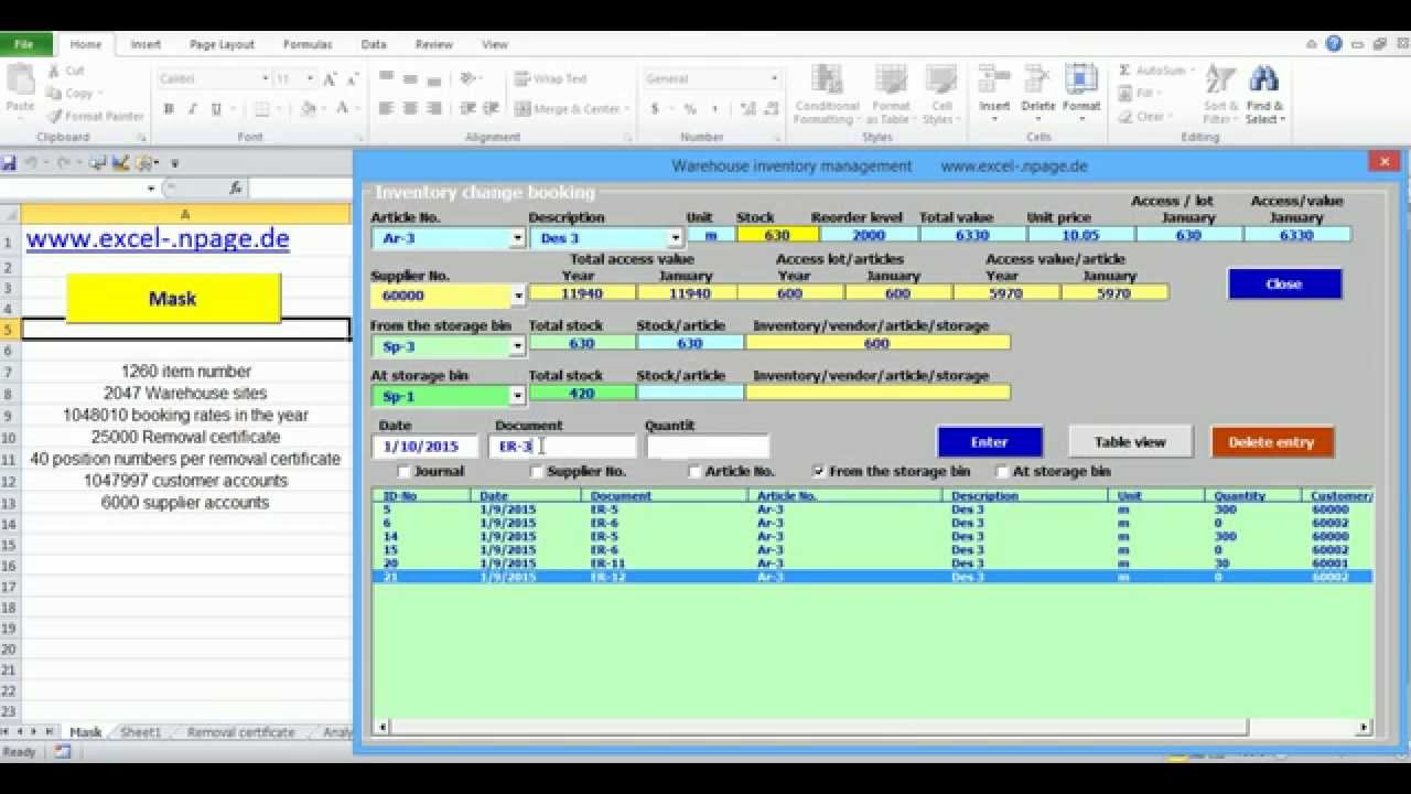 Full Size of Warehouse Management Program Reposting Excel Vba Programming Business Income And Expense Spreadsheet