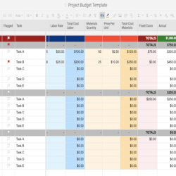 Wedding Budget Spreadsheet Excel Accounting Free Download