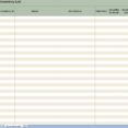 Thumbnail Size of Spreadsheet Rental Property Expenses Catering Excel Template Inventory List