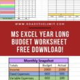 Accomplish Your Biggest Financial Goals With This Free Monthly Budgeting Spreadsheet Life And Finances