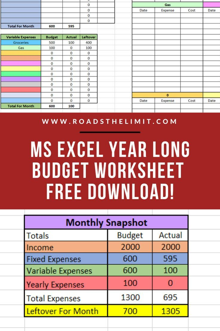 Full Size of Accomplish Your Biggest Financial Goals With This Free Monthly Budgeting Spreadsheet Life And Finances