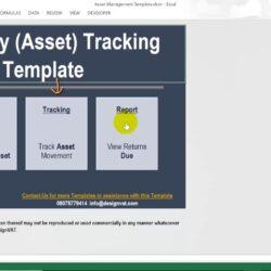 Asset Movement Tracking Spreadsheet Excel Template Creative Business Cards Templates Free