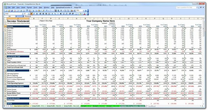 Medium Size of Business Plan Template Excel Elegant Financial Model Free Startup Simple Personal Vector Spreadsheet