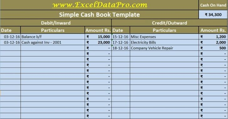 Medium Size of Cash Book Excel Template Exceldatapro Transaction Sheet Templates Oracle Business Spreadsheet