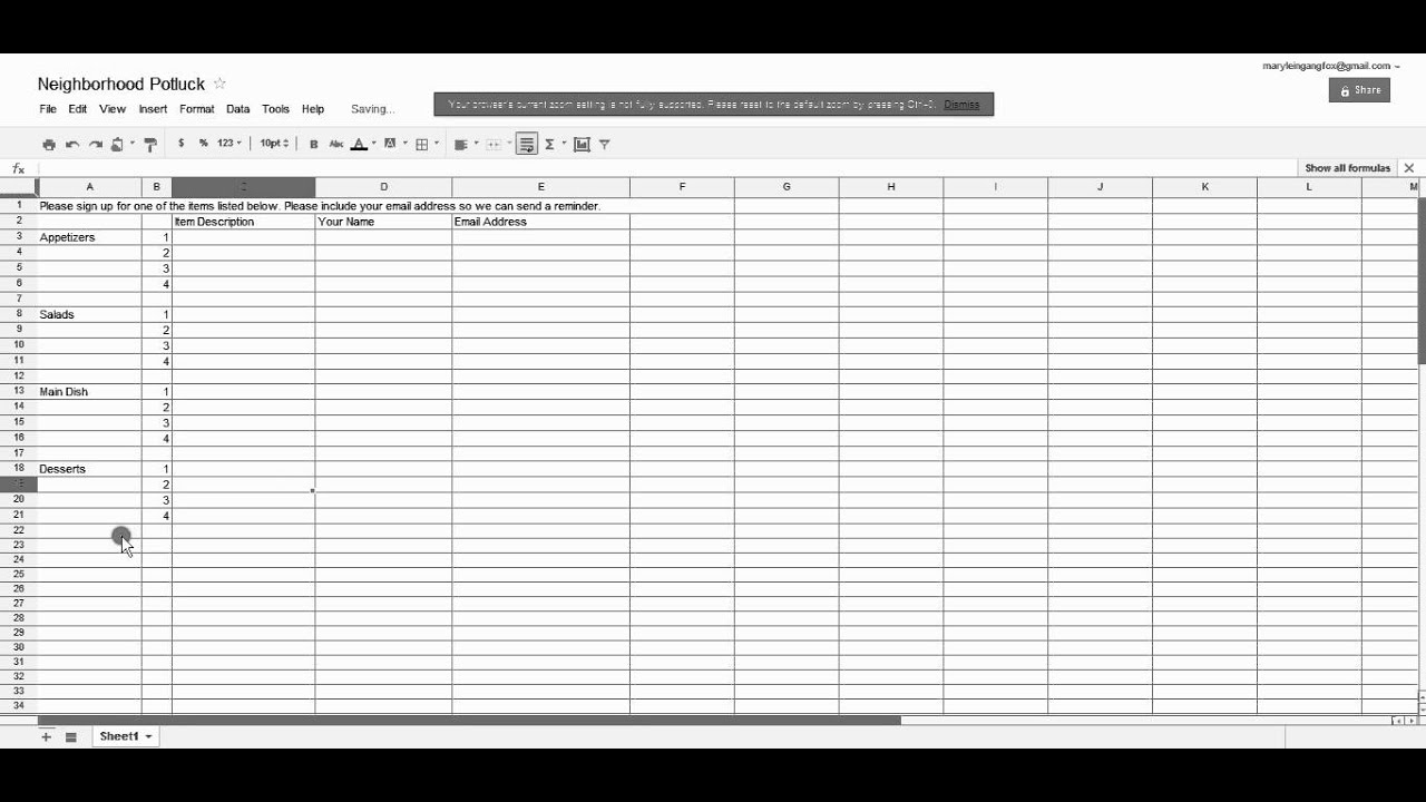 Full Size of Create And Share Spreadsheet On Google Docs In Inventory Template With Pictures Turn