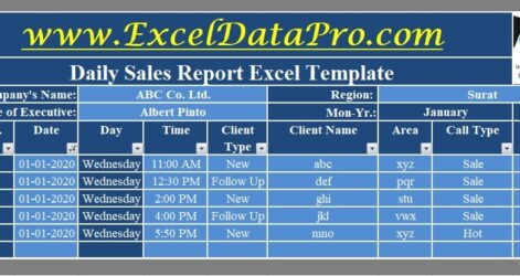 Daily Report Excel Template Exceldatapro Monthly Purchase Format In Date Dsr Google Spreadsheet
