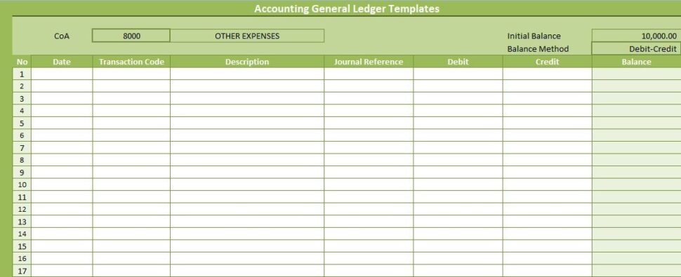 Large Size of Excel Templates Ideas In Accounting General Ledger Free Professional Business Card Spreadsheet