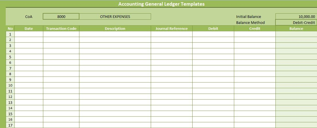 Full Size of Excel Templates Ideas In Accounting General Ledger Free Professional Business Card Spreadsheet