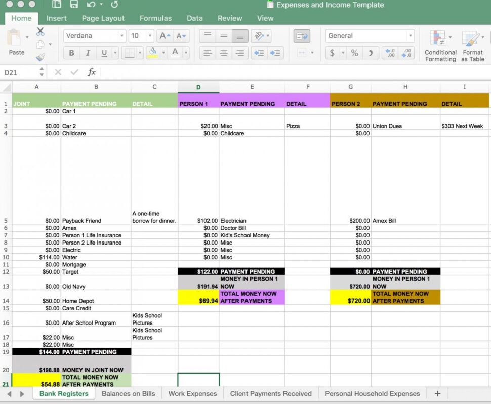 Large Size of Expenses And Income Tracking Template Tin Shingle Life Finances Spreadsheet Screenshot