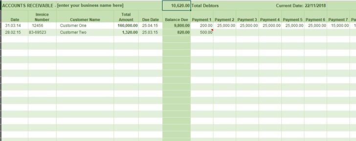 Medium Size of Free Excel Bookkeeping Templates Accounting General Ledger Accounts Receivable Finance Spreadsheet