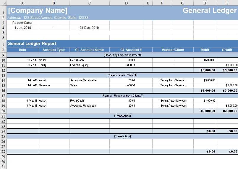 Full Size of Free General Ledger Template Now Freshbooks Excel Accounting Templates By For Business Spreadsheet