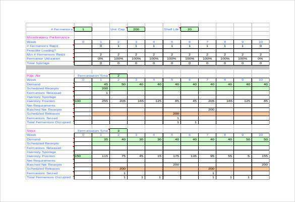Full Size of Production Schedule Template In Excel Free Templates Final Small Business Spreadsheet For