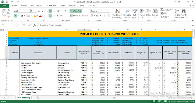Full Size of Free Project Cost Tracking Templates In Excel Expense Template Report Spreadsheet Google