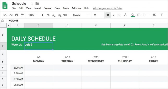 Full Size of Automatic Calendar Templates Monthly Yearly For Google Sheets Schedule Spreadsheet